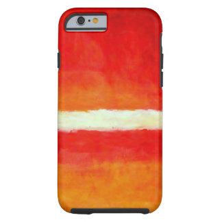 Arte abstracto moderno - caso del iPhone 6 del Funda Para iPhone 6 Tough