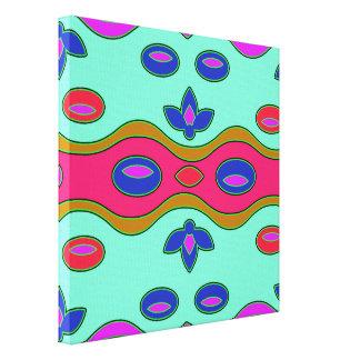 Arte abstracto moderno colorido impresiones en lona