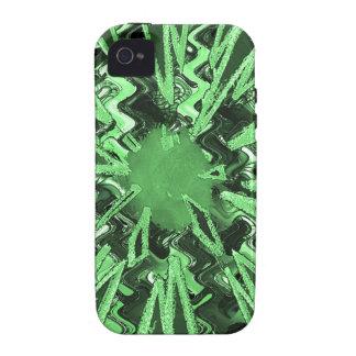 Arte abstracto moderno de la estrella de la chispa Case-Mate iPhone 4 funda