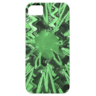 Arte abstracto moderno de la estrella de la chispa iPhone 5 fundas