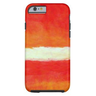 Arte abstracto moderno - estilo de Rothko Funda De iPhone 6 Tough
