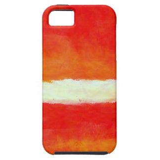 Arte abstracto moderno - estilo de Rothko Funda Para iPhone SE/5/5s