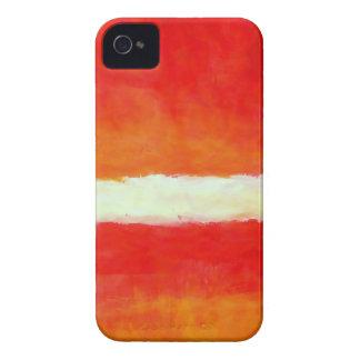 Arte abstracto moderno - estilo de Rothko iPhone 4 Funda