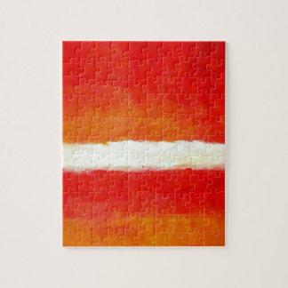 Arte abstracto moderno - estilo de Rothko Puzzle