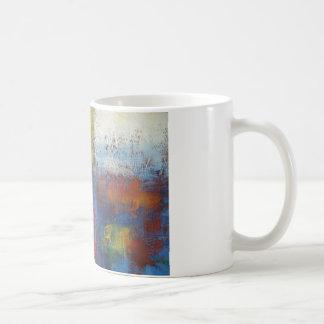Arte abstracto moderno taza clásica