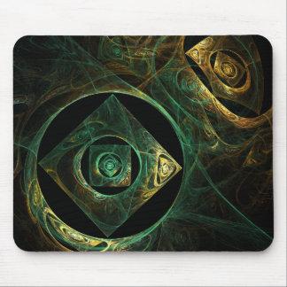 Arte abstracto Mousepad de las vibraciones mágicas