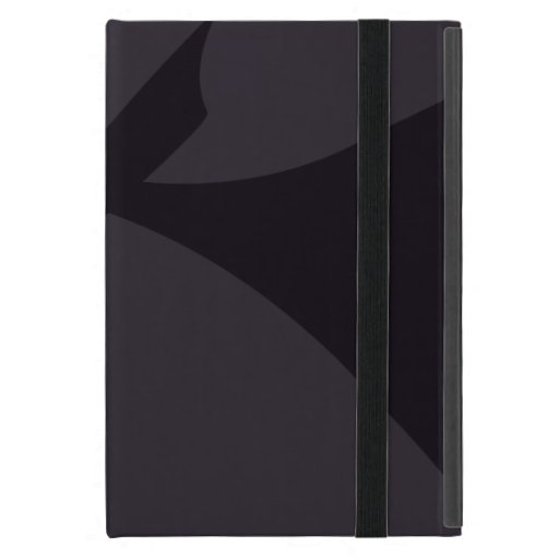 Arte abstracto negro simple iPad mini protectores