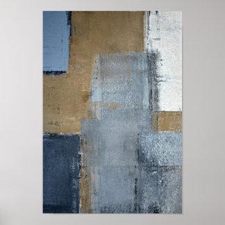 """Arte abstracto neutral de la """"perfección"""" póster"""