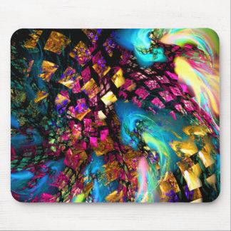 Arte abstracto: Pedazos de un sueño Tapete De Ratones