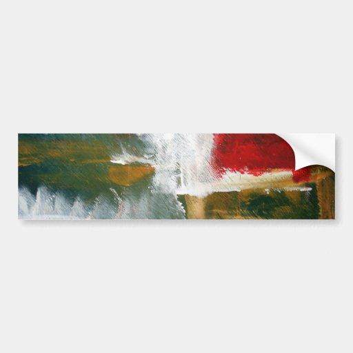 Arte abstracto pegatina para auto