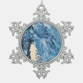 Arte abstracto - perdición de Frost Adorno De Peltre En Forma De Copo De Nieve