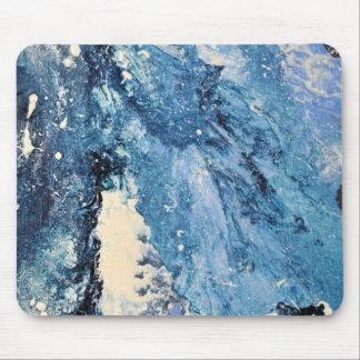 Arte abstracto - perdición de Frost Tapete De Ratones