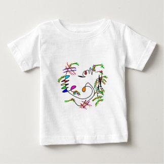 arte abstracto tee shirt