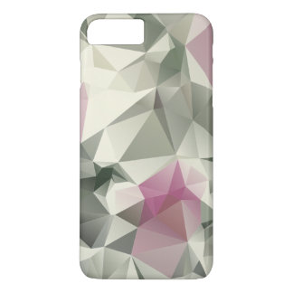 Arte abstracto poner crema rosado de la pirámide funda iPhone 7 plus
