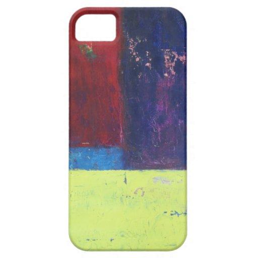 Arte abstracto por Zooberhood iPhone 5 Protectores