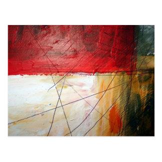 Arte abstracto postal