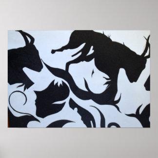 Arte abstracto póster