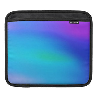Arte abstracto púrpura de la aguamarina de la mangas de iPad