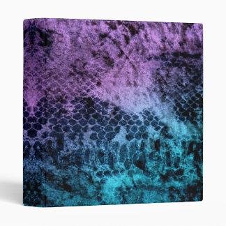 "Arte abstracto púrpura y azul sucio carpeta 1"""