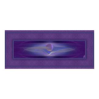 Arte abstracto que espera invitación 10,1 x 23,5 cm