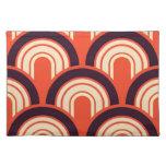 Arte abstracto retro de los años 50 del art déco manteles