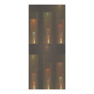 Arte abstracto santificado de los pasillos invitación 10,1 x 23,5 cm