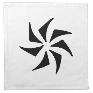 Arte abstracto servilletas