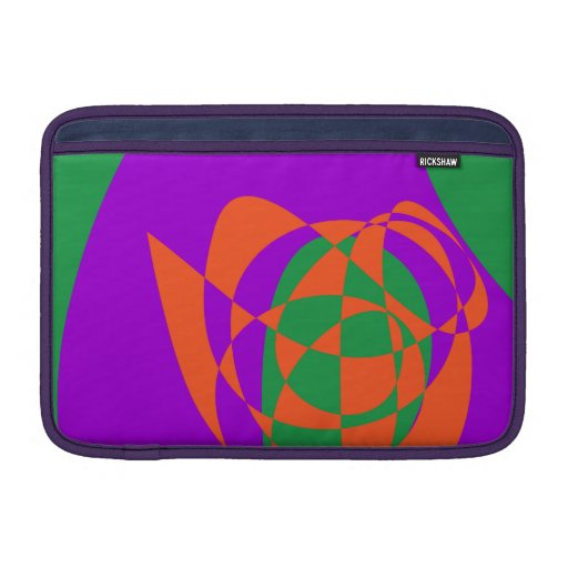 Arte abstracto simple de los colores que pone en funda  MacBook