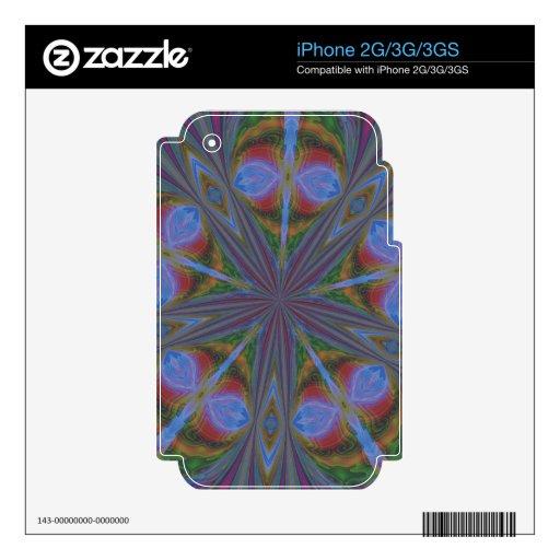 ARTE ABSTRACTO SKIN PARA EL iPhone 3