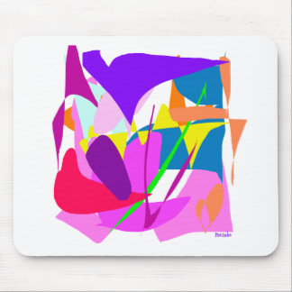 Arte abstracto tapete de ratones