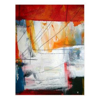 Arte abstracto tarjetas postales