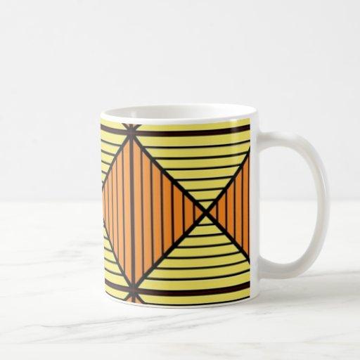 Arte abstracto taza clásica