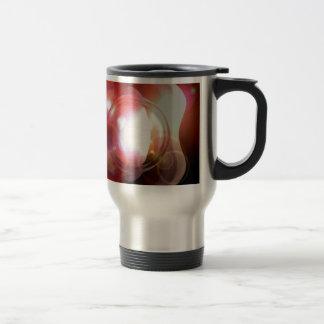 Arte abstracto taza de viaje