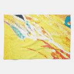 Arte abstracto toallas de mano