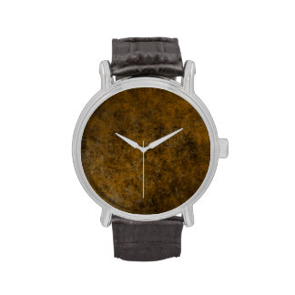 Arte abstracto TPD de Brown Relojes De Pulsera