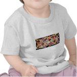 Arte abstracto único camisetas
