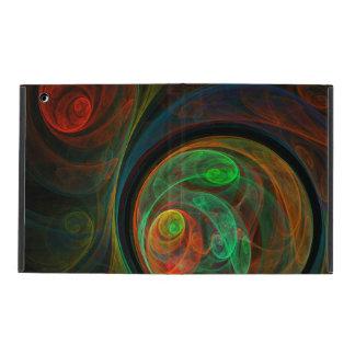 Arte abstracto verde del renacimiento