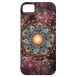 Arte adornado del fractal de la broche iPhone 5 funda
