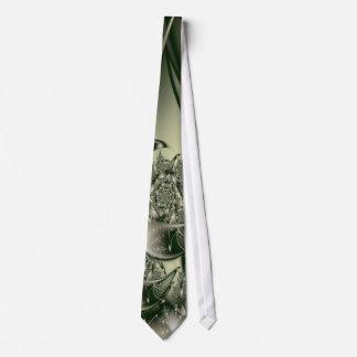 Arte afiligranado del fractal de 2 multas corbata personalizada