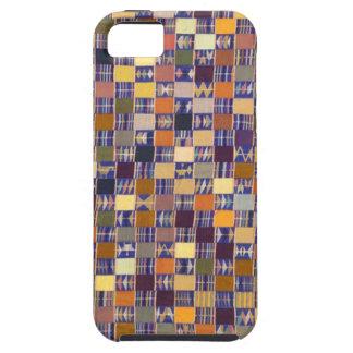 ARTE AFRICANO DE LA MATERIA TEXTIL iPhone 5 Case-Mate CÁRCASA