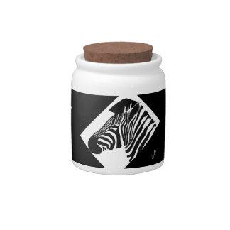 Arte africano jarras para caramelos
