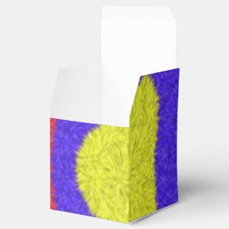Arte al azar caja para regalo de boda