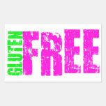 Arte alegre libre del gluten pegatinas