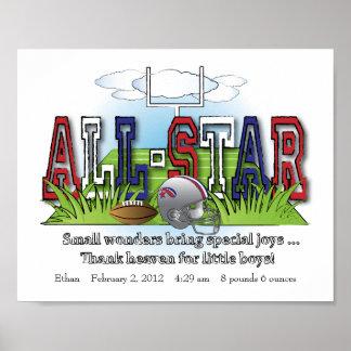 Arte All-star modificado para requisitos particula Impresiones