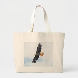 Arte altísimo de la foto de Eagle calvo Wildife Bolsa