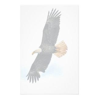 Arte altísimo de la foto de Eagle calvo Wildife Papeleria De Diseño