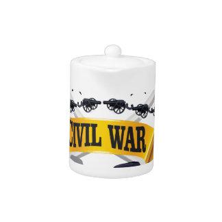 arte amarillo de la guerra civil