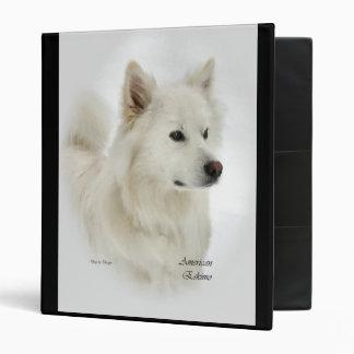 "Arte americano del perro esquimal carpeta 1"""