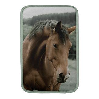 arte animal de la pintura del caballo del vintage funda  MacBook