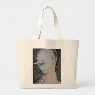 Arte anónimo del forastero del extracto del bolsa tela grande